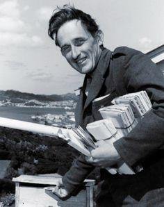 James K Baxter as a postie.