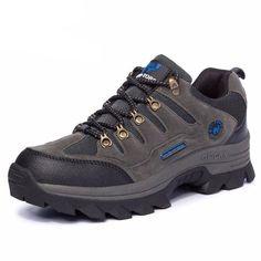 e103f6e48b15 Shoes Men Women Water-resistant Outdoor Hiking Boots Climbing Walking  Trekking Boot Mens Leather Hiking