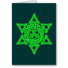Celtic Star of David Cards
