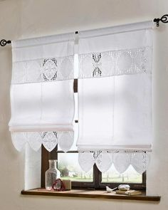 Colour White Heine Home Roman Blind 1 piece Delivery with loops -139143