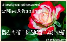 teachers day tribute