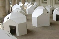 nume cardboard house for DWR