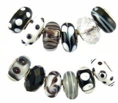 Pandora style beads fit over end caps so you can swap them out to change the look of a finished bracelet or necklace.