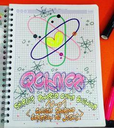 Diy Notebook, Typography, Lettering, School Notes, School Design, Letterpress, Diy For Kids, Booklet, Creative Design