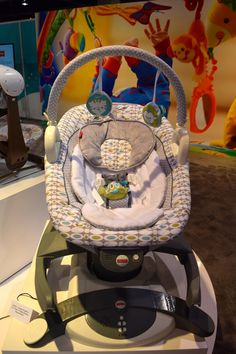 Pin for Later: 120 New Baby and Kid Products We Can't Wait to See in 2015 Fisher Price 4-in-1 Rock-n-Glide Soother