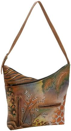$176 Anuschka 357 V-Top Hobo#Repin By:Pinterest++ for iPad#