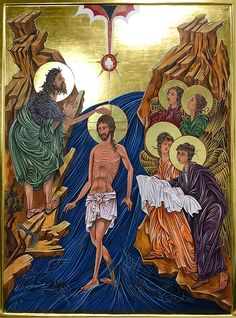 Sacred Mysteries — The Studio of John the Baptist John The Baptist, Orthodox Icons, Sacred Art, Christian Art, Christianity, Mystery, Lord, Studio, Painting