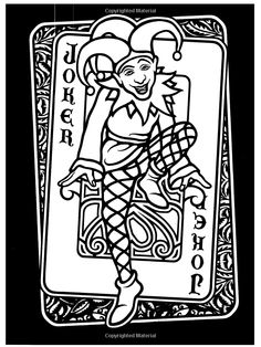 Welcome to Dover Publications / Wild Cards Stained Glass Coloring Book / Marty Noble / Amazon.com