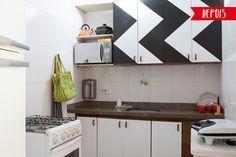 Como renovar a cozinha com papel Contact! (e super barato!) - dcoracao.com - blog de decoração
