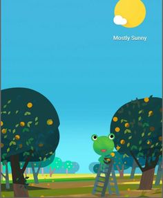 Google Weather, Weather Cards, Frog Pictures, Mostly Sunny, Funny Animals, Snoopy, Cute, Movie Posters, Frogs