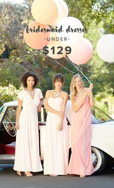 Flattering frocks, pretty prices, member only promos, and did we mention... pockets?! Sign up on Weddington Way for exclusive access to the best bridesmaid dresses in the biz