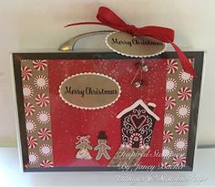 Inspired Stamping by Janey Backer: Christmas Case of Cards, Candy Cane Lane, Stampin' Up!