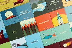 Discover Siberia Memory Game — The Dieline - Branding & Packaging Design
