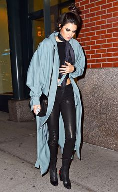 Kendall Jenner from The Big Picture: Today's Hot Pics Top knot in the city! The model looks glamorous while spotted out and about in New York City.