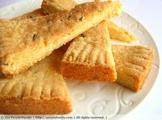 Lavender Shortbread and Some Changes… | The Purple Foodie