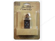 Just Listed~ Tim Holtz Idea-ology MIni Lantern Battery Powered-So perfect for adding a special, lighted touch to your Holiday Projects!!  https://www.etsy.com/listing/211977229/tim-holtz-idea-ology-mini-lantern?ref=shop_home_active_1