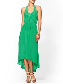 MM Couture Green Goddess Dress