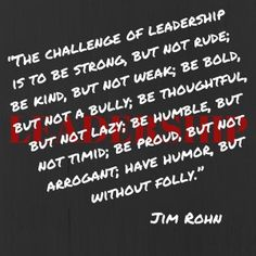 It is one of the hardest parts of leadership. Having to make tough decisions that affect people's lives.