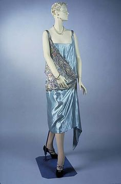 1926-1928 evening dress by Drecoll, design by Maggy Rouff