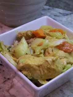 Couldn't Ask For More: Paleo Dinner: Thai Curry Chicken