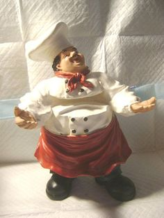 African American Fat Chef Home Decor Kitchen Wall Art In