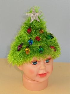 FREE Easy Children Christmas Tree Beanie   Craftsy
