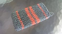 Cell Phone Case Stretchy Gray And Orange by InterferenceChannel, $17.99
