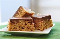 Scotcheroos (peanut butter, rice krispies, chocolate)