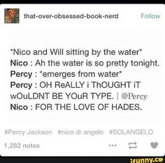 """""""FOR THE LOVE OF HADES"""" Gets me every time!"""