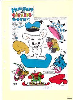 Övriga tidningar A-K | Maggans nostalgiska klippdockor