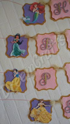 Hey, I found this really awesome Etsy listing at https://www.etsy.com/listing/401139281/princess-banner-cinderella-beauty-and