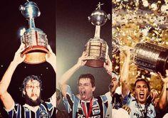 Tri campeão Copa Libertadores da América, 83-95-17