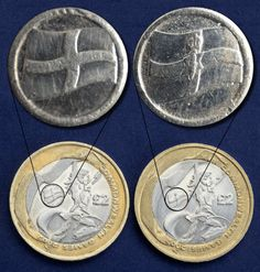 The English Commonwealth Game coin (on the left) looks very similar to the Northern Irish coin. Rare Coins Worth Money, Valuable Coins, Rare British Coins, Coin Dealers, 50p Coin, Coin Worth, Coin Values, Uncirculated Coins, Old Money