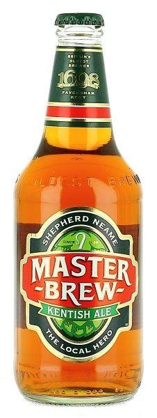 20th January 2013 ~ #DailyPint 20: Pint of Shepherd Neame Master Brew. Bit bland. 6/10 [Drank back home]