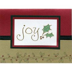 Cards for holidays & all occasions.  This site is full of great ideas.