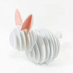Serial Planes Rabbit by Edgar Gómez