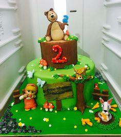 Masha e orso torta