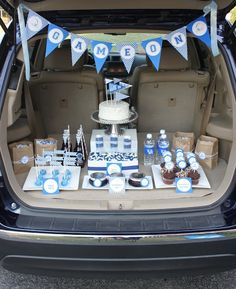 "Tailgating Dessert ""Table"", this is totally u bringing ur kids snacks at soccer practice, crystal. Lol, don't worry I'm right next to you, w my mom an sis."