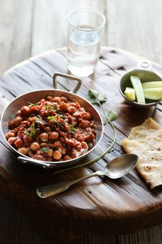 Chickpea Tikka Masala - A quick, nutritious, delicious, meat free curry for weekend lunches. Best for those weekend parties.