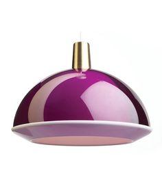 Kuplat-valaisin, violetti