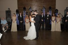 bride and groom first dance - Beautiful and Rustic Alabama wedding at the Douglas Manor   Stefani Marie Photography - http://emmalinebride.com/real-weddings/rustic-douglas-manor-wedding/