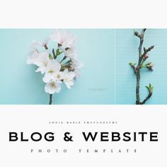 Blog & Website Photo Template by JustBeingAngie on Etsy, $6.00