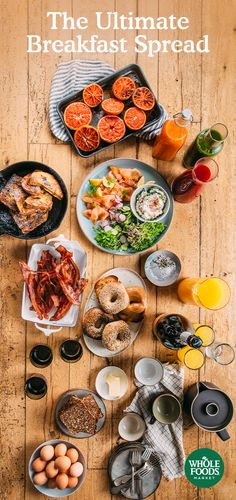 It may feel like it's all about the big holiday meal, but a breakfast spread is totally worth celebrating. Get food and drink inspiration that will make mornings extra merry this holiday season.
