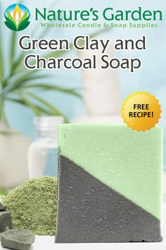 Green Clay and Charcoal Soap