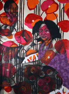 dm_Those Things Between Us Black Art Painting, Figure Painting, Painting & Drawing, African American Artist, African Art, Art Criticism, African Paintings, Art Pictures, Art Pics