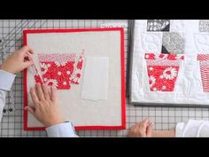 How to Make a Flower Pot Block from Poison Ivy Quilt Pattern by Me & My Sister Designs
