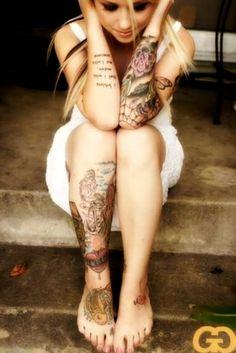 Tattoo Tatuagem Ink Girl Woman