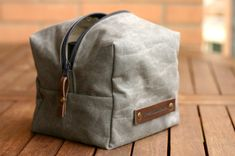 Etsy listing at https://www.etsy.com/listing/167222062/waxed-canvas-toiletry-mens-toiletry-bag~ Fathers Day