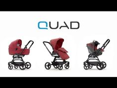 Quad, to travel in business class on all terrains. Discover all it's features with this Video Tutorial. Cool Baby Stuff, Quad, Baby Strollers, Children, Ideas, Baby Prams, Young Children, Boys, Kids