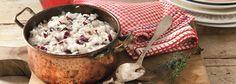 Un risotto dal sapore invernale, un gusto incredibile e un profumo che non lascia dubbi. Ecco la ricetta per un gustoso Risotto con Radicchio e formaggi!